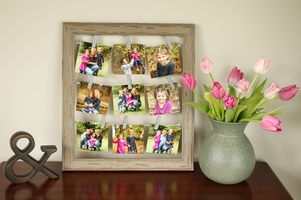 Mini Clothesline Gallery Frame