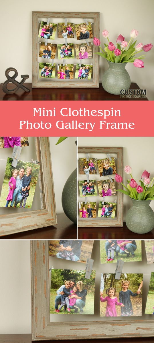 DIY Mini Gallery Frame Pinterest